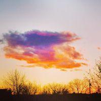 Winter Sunset Vanessa Forsythe Andros